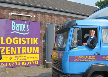 Bente's Logistikzentrum